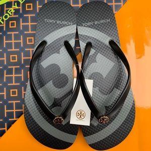 NWT Tory Burch Flip Flop Emory Thong Flat Sandals